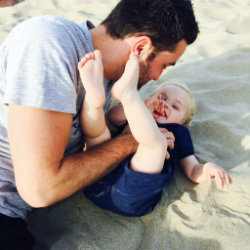 Bier, braadworst en baby's – Anthony